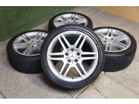 Mercedes Alloy wheels - 12 Sets currently available - A E C Class CLK SLK CLC CLS ML GL Vito AMG