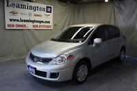 2012 Nissan Versa Very LOW KM's and priced perfectly, lots of gr