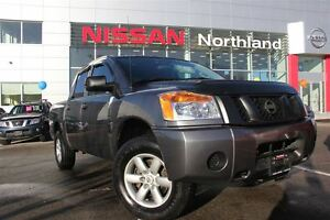 2014 Nissan Titan S 4x4/ Tow Hitch/ Box Liner/ Power Windows & L