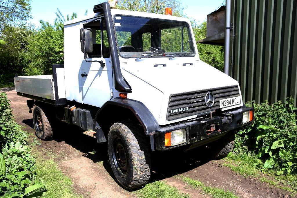 Mercedes Unimog U140 7.5 tonne 4x4 crew cab truck | in ...