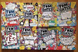 Tom Gates - 8 books
