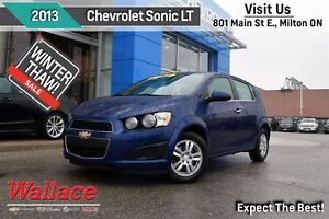 2013 Chevrolet Sonic LT/HEATED FRONT SEATS/REAR SPOILER/BLUETOOT