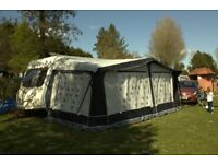 Bailey Pageant Provence 2007 6 series twin dinette touring caravan
