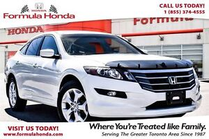 2012 Honda Crosstour EX-L- EQUIPPED WITH NAVI, MOON ROOF, V-6 AN