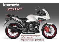 *Brand New* 66 Plate Lexmoto ZSX-F (CBF) 125. Warranty. Free Delivery. Main Dealer. 10-10