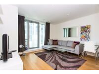 Modern 1 Bed Apartment in Pan Peninsula Square, E14, Canary Wharf, Gym, Concierge, Balcony- VZ