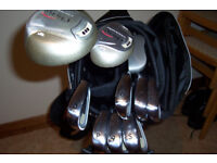 Chicago SGS Ladies golf set c/w stand bag (all in brand new condition)