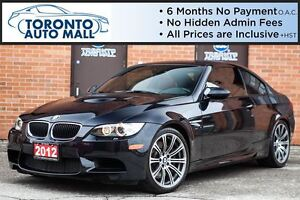 2012 BMW M3 6 SPEED+NAVIGATION+PARKING AID+HARMEN KARDON
