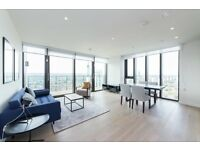 28th FLOOR 2 BED 2 BATH IN ONE THE ELEPHANT SE1, ELEPHANT AND CASTLE ZONE 1 & 2 FURNISHED !