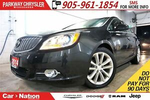 2014 Buick Verano REMOTE START| REAR CAM| BLUETOOTH| 10 AIRBAGS|