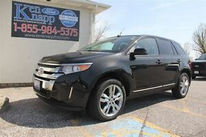 2014 Ford Edge SEL LEATHER SUNROOF NAV FWD