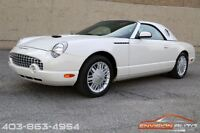 2002 Ford Thunderbird Convertible - Two Tops - 1 Owner