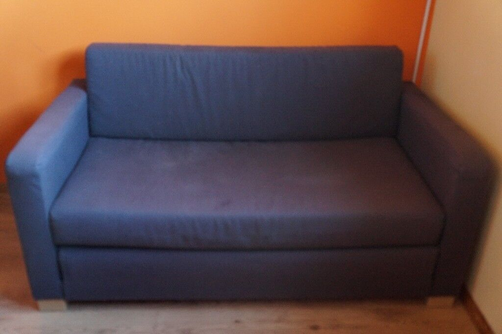 Stupendous Small Two Seater Sofa Bed Ikea Grey Fabric In Wester Hailes Edinburgh Gumtree Gamerscity Chair Design For Home Gamerscityorg