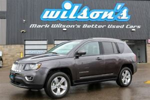 2016 Jeep Compass HIGH ALTITUDE! 4WD! LEATHER! SUNROOF! HEATED S