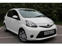 Toyota Aygo VVT-I Active Plus Ac 5dr **FULL S/HISTORY+0 TAX** (white) 2013