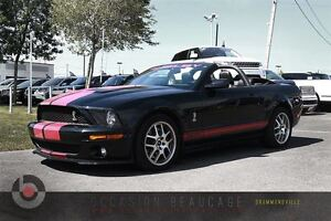 2008 Ford Mustang SHELBY GT 500 CABRIOLET V8 MANUELLE - CUIR!!