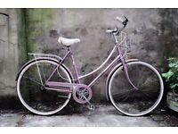 RALEIGH CAPRICE, 21 inch, 53.5 cm, vintage ladies womens dutch traditional road bike, loop frame