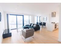 SPACIOUS 3B FLAT WITH PARKING,CONCIERGE,FACILITIES IN HORIZONS TOWER,YABSLEY STREET,CANARY WHARF D6