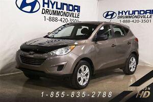 2013 Hyundai Tucson L + JAMAIS ACCIDENTÉ + MANUELLE + DÉMARREUR