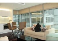 1 Bed apartment in Pan Peninsula Canary Wharf E14 Gym and concierge access available end of April-SA
