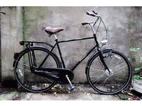 DAWES GRADUATE, vintage dutch style traditional gents road bike, 22.5 inch, 5 speed