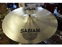 "sabian aa 20""rock ride cymbal ,new"