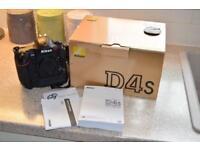 Nikon D4s camera