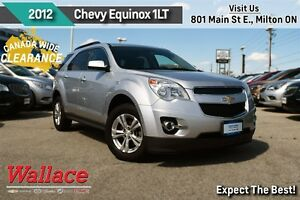 2013 Chevrolet Equinox 1LT/1-OWNER/HTD SEATS/REAR CAM/REMOTE STA