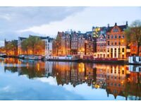 Tickets from Bristol to Amsterdam 14th Dec - 18th Dec **RRP 130 gdp each***