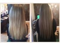 Hair Extensions, Micro Ring, Nano Ring, Fully Qualified & Insured