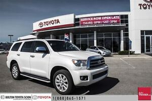 2013 Toyota Sequoia Platinum 5.7L 6A Full Luxury, Power AND Styl