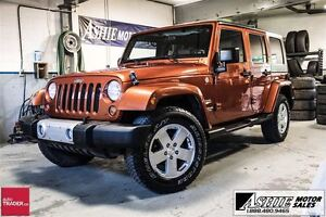 2009 Jeep WRANGLER UNLIMITED Sahara AUTO! BOTH TOPS! A/C!