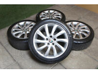 "Genuine Alfa Romeo Giulietta 17"" Turbine Alloy wheels & Tyres 5x110 Vauxhall Astra Zafira"
