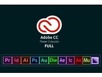 Adobe Master Collection CS6 & CC 2018 - Genuine PC or Mac Version