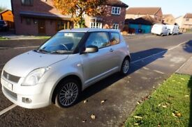 ***Silver 06 plate Suzuki Swift with only 79,000 miles, 11 months MOT *** £1650.