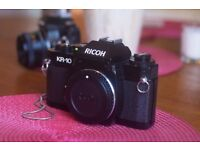 Ricoh KR-10 with Ricoh flash and case (film) FREE DELIVERY