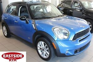 2012 MINI Cooper S Countryman TURBO LEATHER PANO ROOF