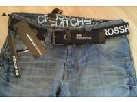 """New and labelled Cross Hatch Next Generation Jeans.32""""W x 34""""L"""