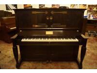 C. Bechstein rare art case upright piano - Delivery available