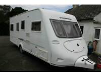 2007 Fleetwood Vanlander 4 Berth Fixed Twin Single Beds Caravan + Motor Movers