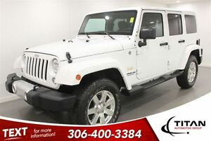 2015 Jeep WRANGLER UNLIMITED Sahara|Auto|15805 Kms| Navigation