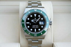 Rolex Green Submariner Date 41 Black Dial 2020