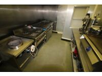 Restaurant/cafe commercial kitchen in prime DL3 home-delivery Darlington town centre location