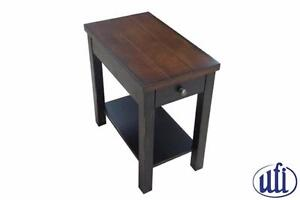 Chairside Table with USB