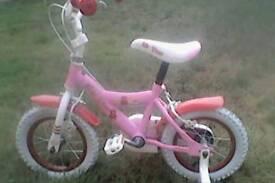 Bumper My Teddy 12 Kids Bike (Ages 3-5)