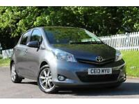 TOYOTA YARIS 1.3 VVT-I SR 5d 98 BHP 5 STAR AWARD WINNING DEALER (grey) 2013
