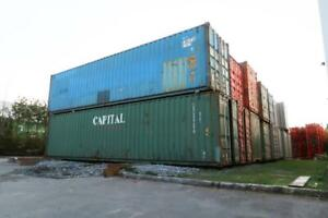 40ft High-Cube Shipping Container Premium