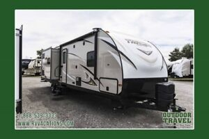 2018 FOREST RIVER Tracer 3200BHT Bunk House Travel Trailer
