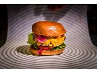 JUNIOR SOUS CHEF needed for Patty and Bun - Swingers Golf event - Location under the Gherkin