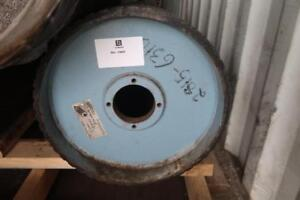 """WESTERN BELTING & HOSE Rubber Pulley Lagging 16.5""""D, Outside To Outside 32""""L"""
